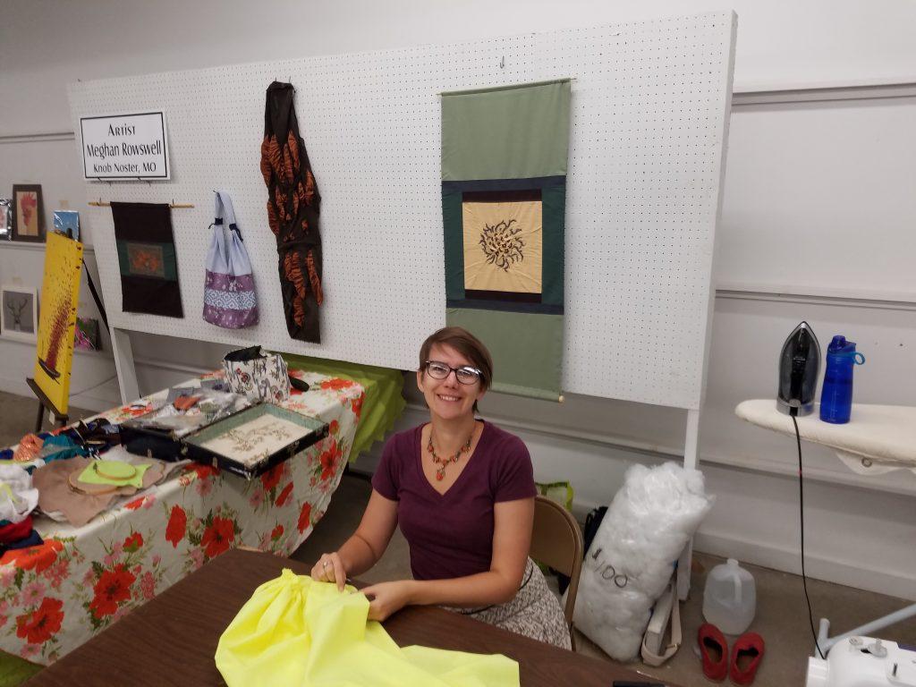 Artist Residency at the Missouri State Fair